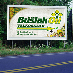 Billboard - Búšlak Oil